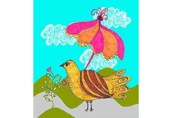 bird with umbrella db 082 600×400 jpeg