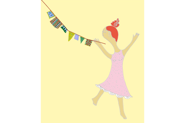 dancing girl artwork illustration happy art mariska eyck db 087 600×400 jpeg