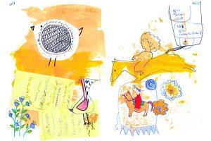 storytelling,happy art,