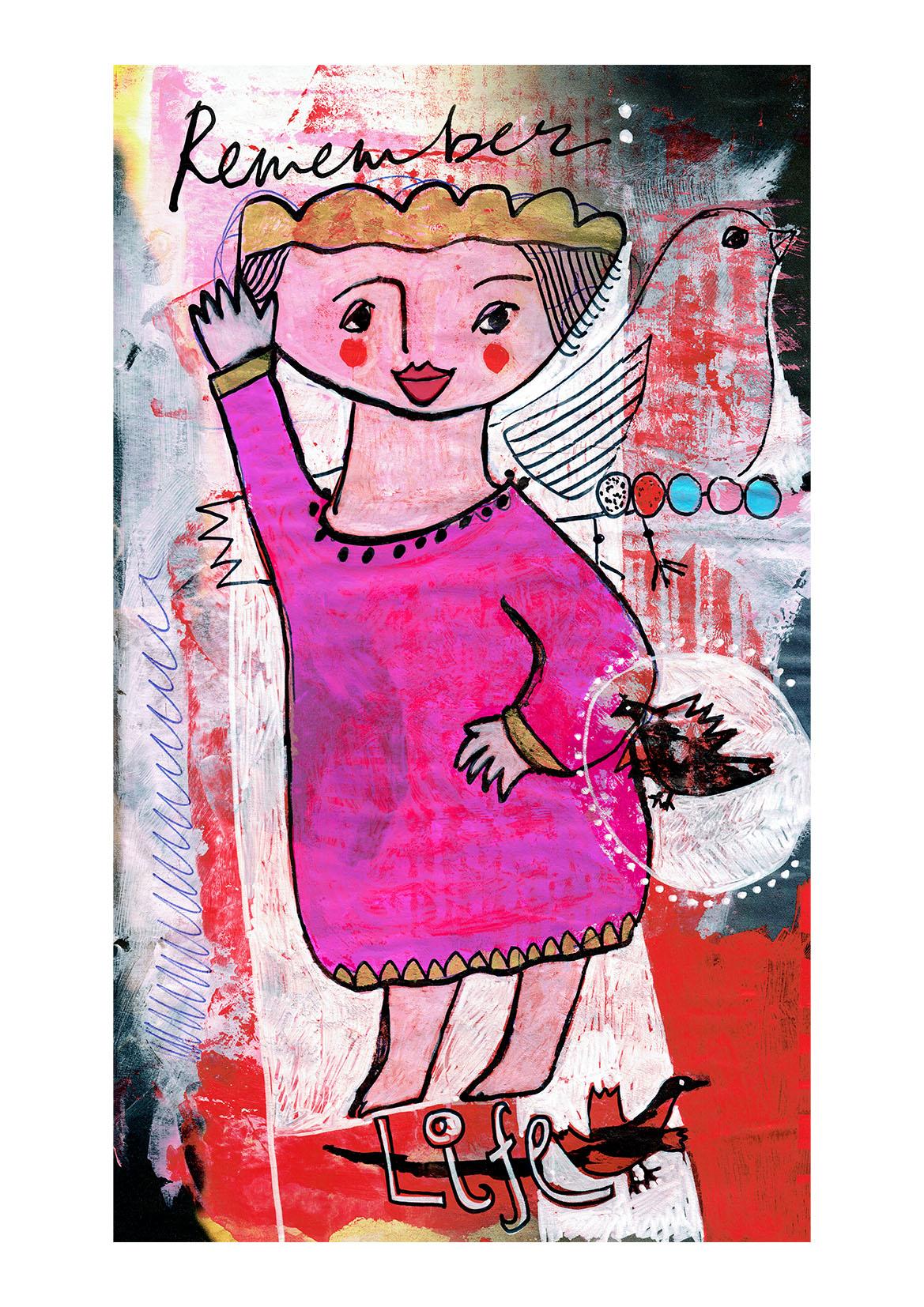 19b corona artprint mariska eyck A3 book of courage 100 jpeg