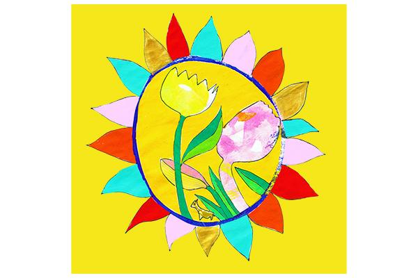 flowers in the sun art mariska eyck 22×22 db 093 16338 400×600 jpeg