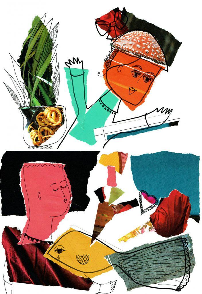 story telling, happy art
