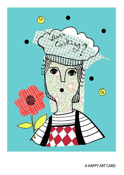happy art card 10 what's cooking art mariska eyck aj 109 A6 100 jpeg