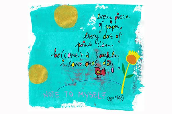 note on sparkles art mariska eyck db 096 400×600