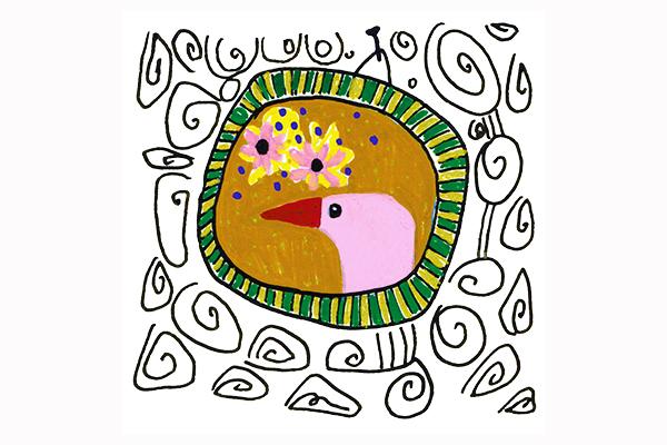 portrait of a bird art mariska eyck db 097 16784 400×600