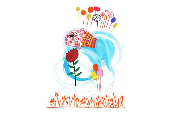 fish and tulip art mariska eyck db 097 16867 400×600