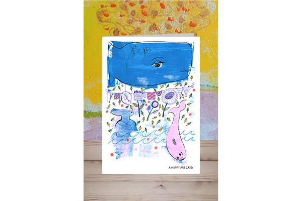 happy art card 04 art mariska eyck mockup gevouwen kaart 600×400