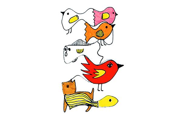 birds art mariska eyck db 100 RGB 400×600
